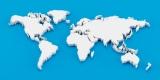Detail 3d world map
