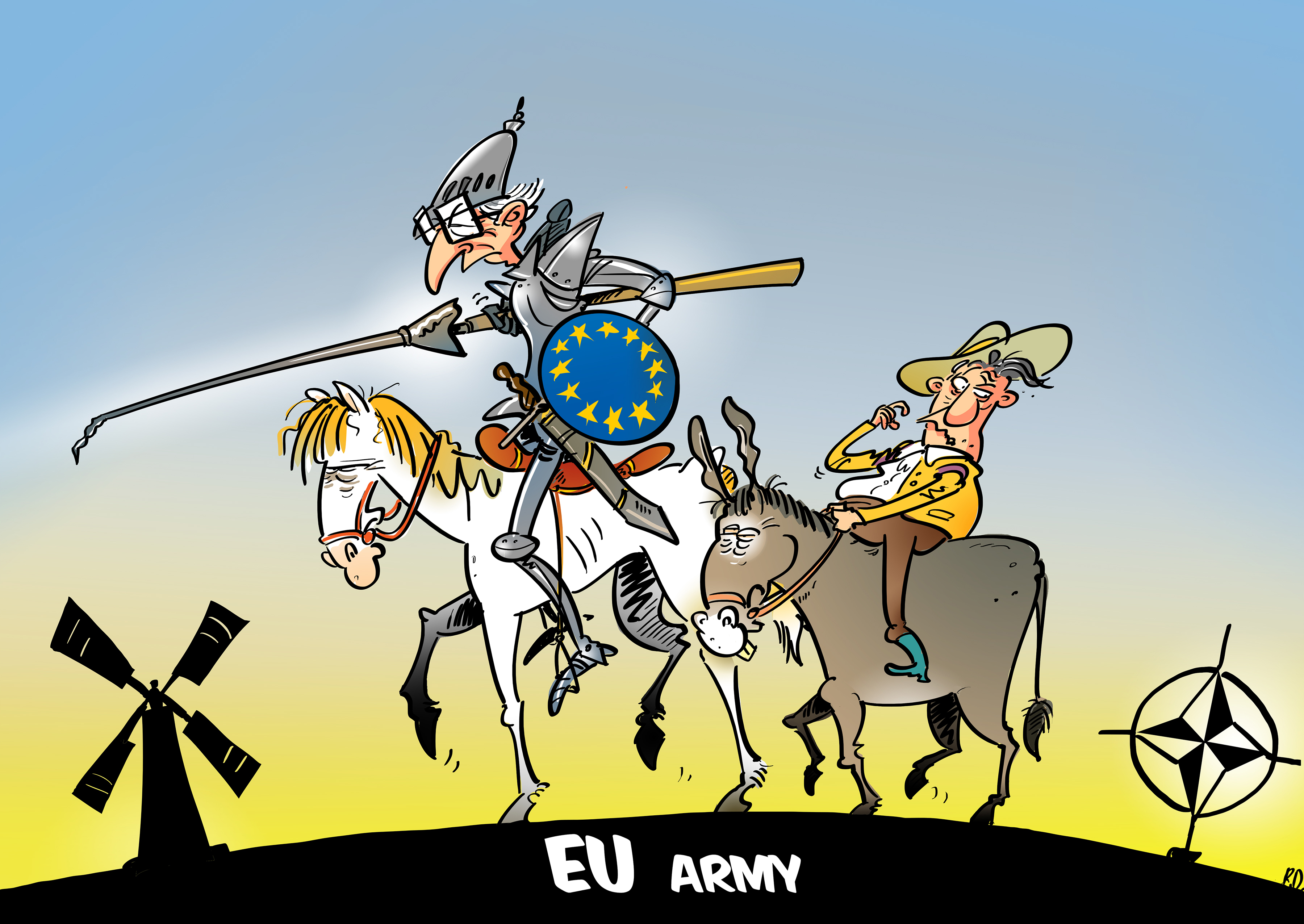 Not a European Army': PESCO is About 'Cooperation, Not Integration ...